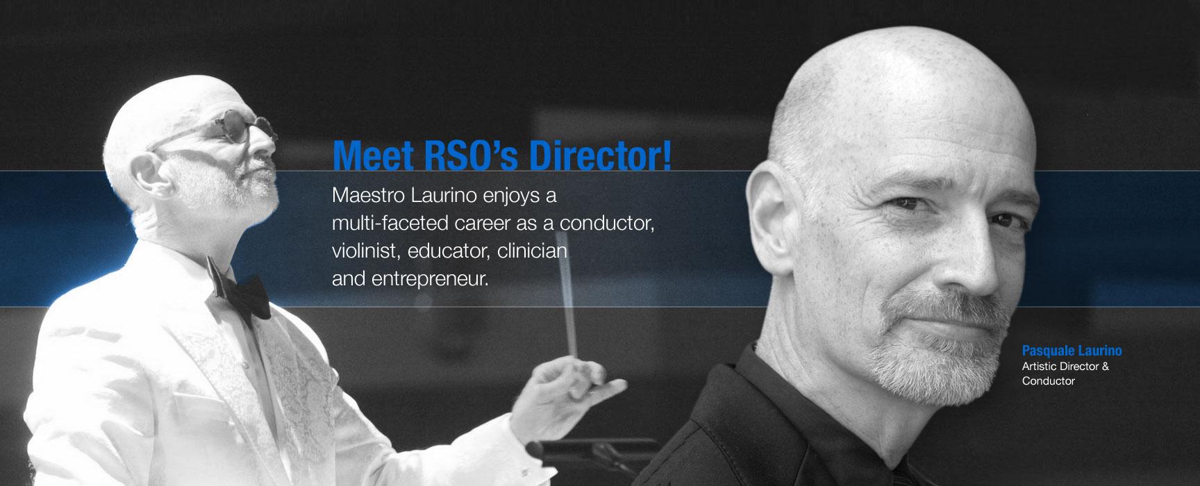 RSO Conductor Pasquale Laurino