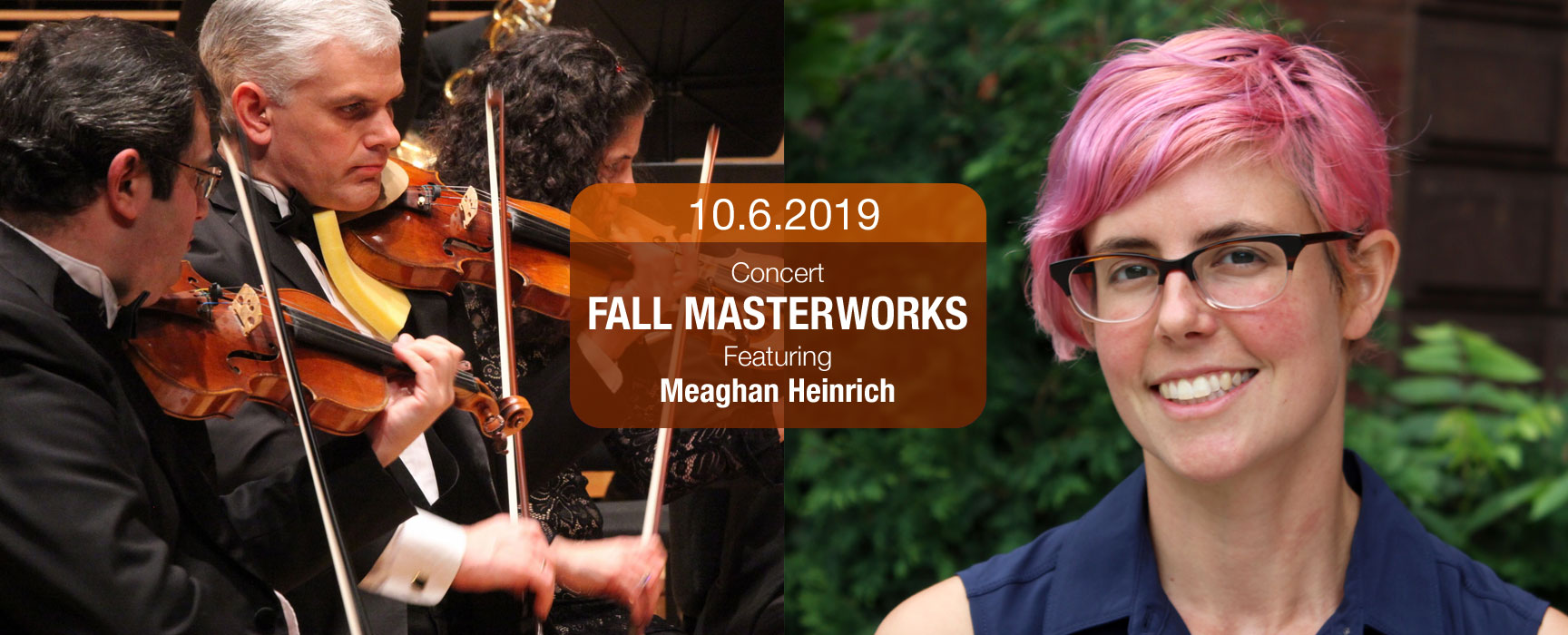 2019 fall masterworks with Meaghan Heinrich