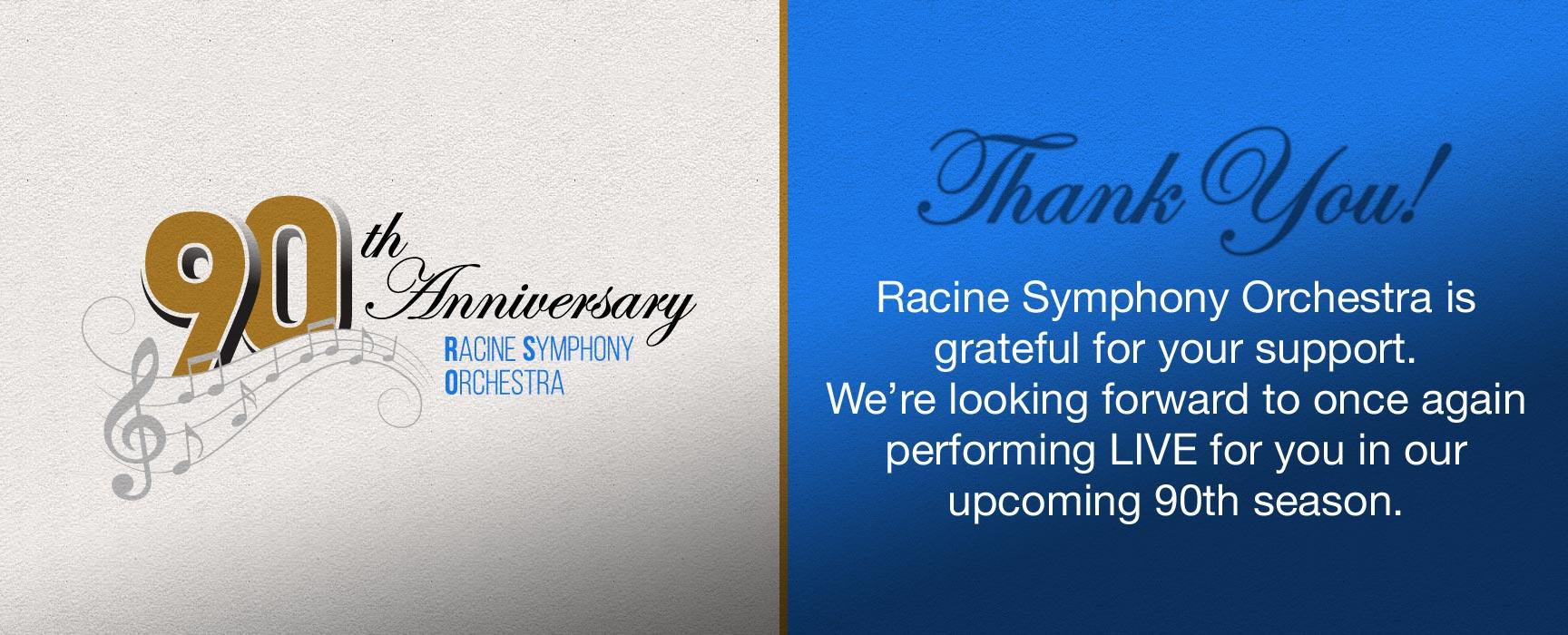 RSO 90th Anniversary